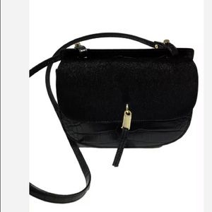Zara black crossbody bag
